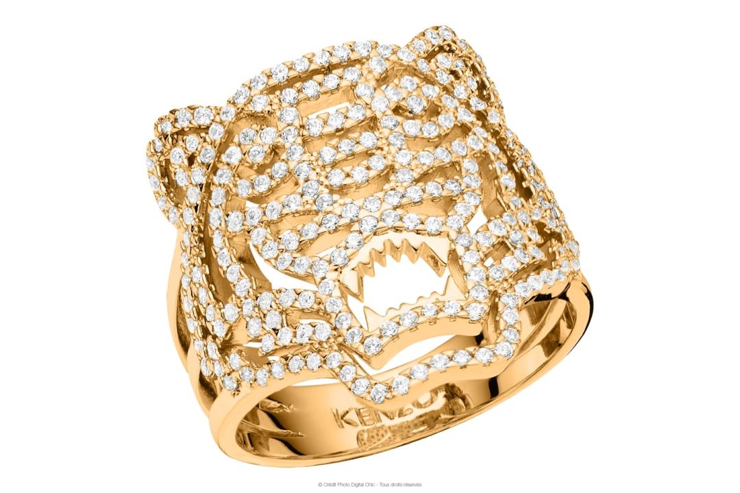 Packshot Kenzo : bijoux Argent 925 & Vermeil