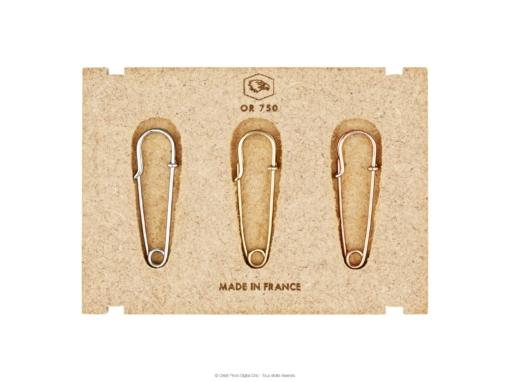 Packshot 0.88 : bijoux en or jaune, or blanc et or rose