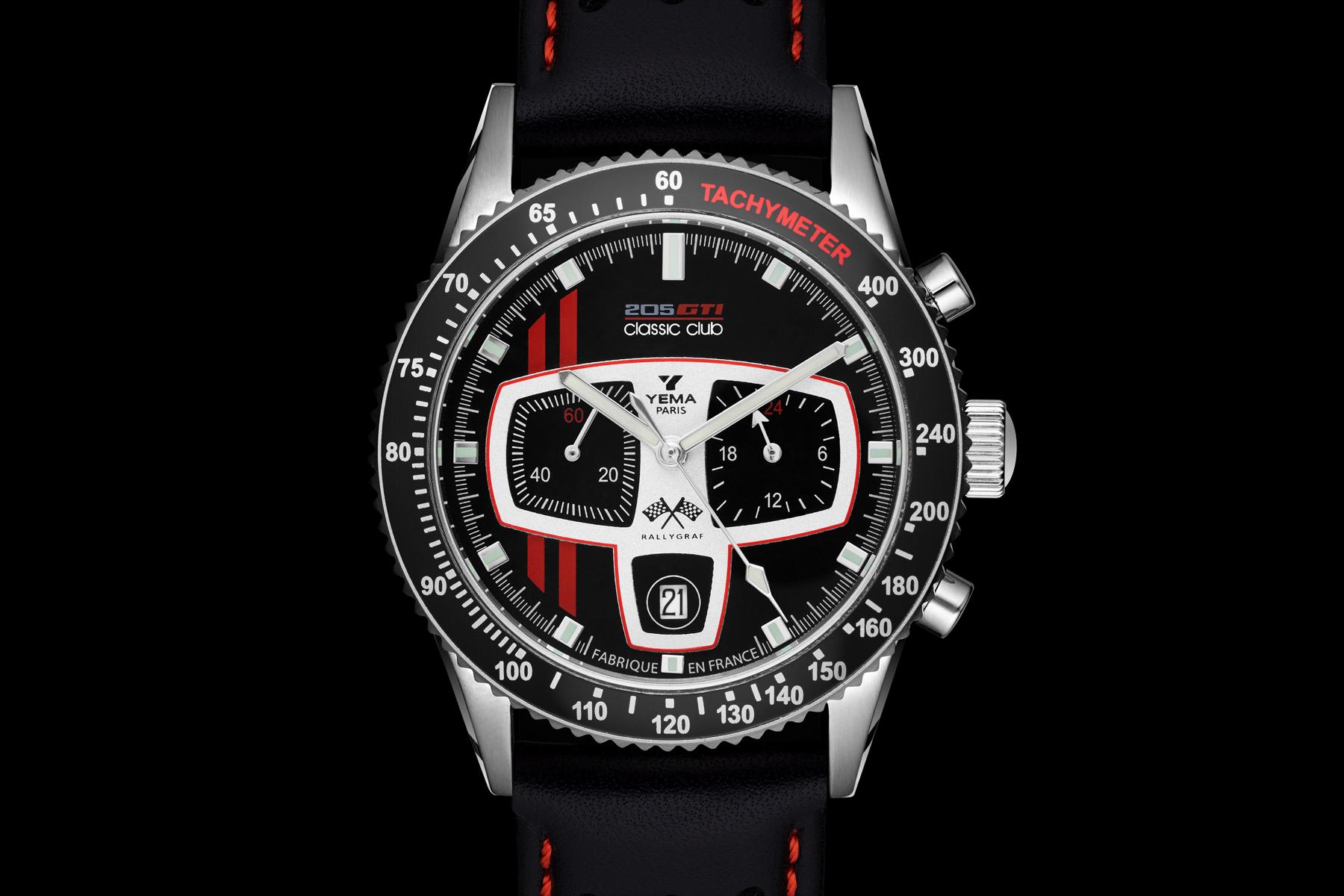 Packshot montre horlogerie - Cadran montre homme Yema