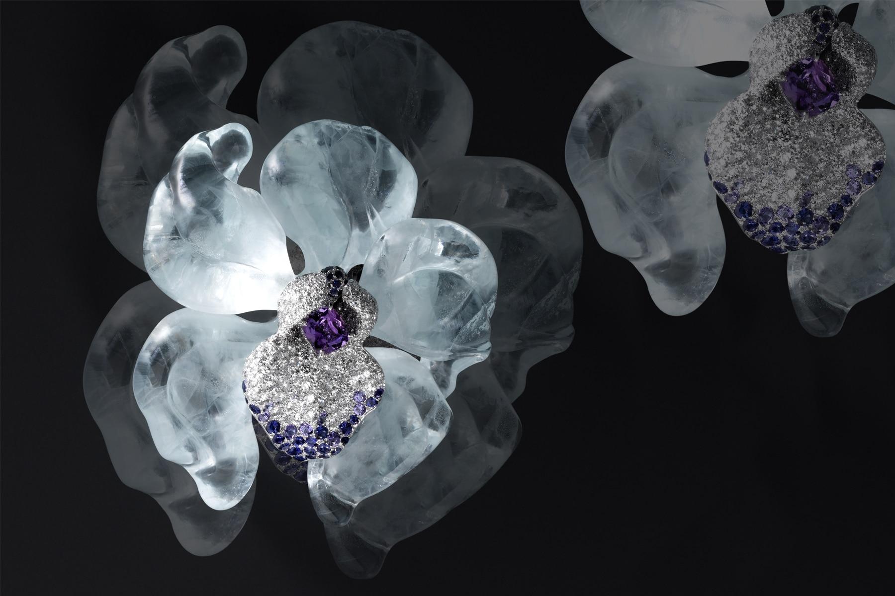 Photographe d'ambiance nature morte - composition haute joaillerie - Digital Chic - © Crédit Photo Katel Riou pour Cartier - Tous droits réservés