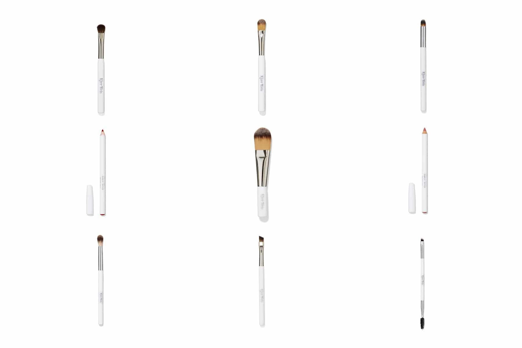 Packshot produits de beauté, maquillage - Pinceaux et crayons Yeux Kjear Weis pour Oh My Cream