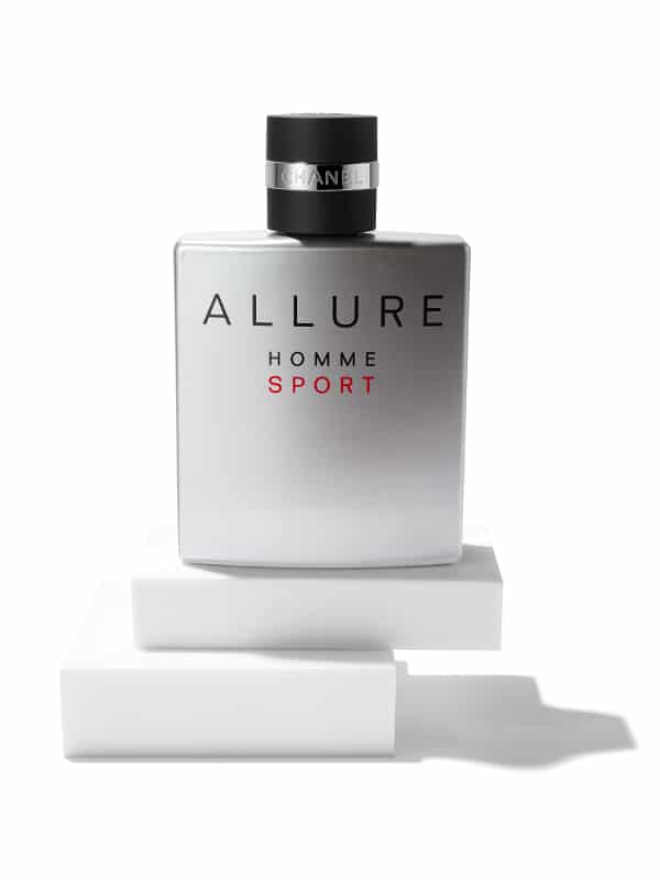 packshot parfum chanel homme