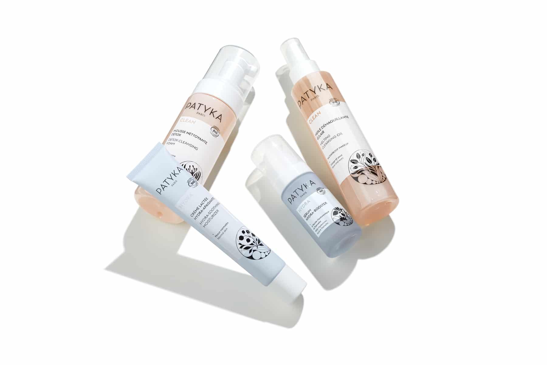 Packshot cosmétiques - Sérum, mousse, crème et huile Patyka