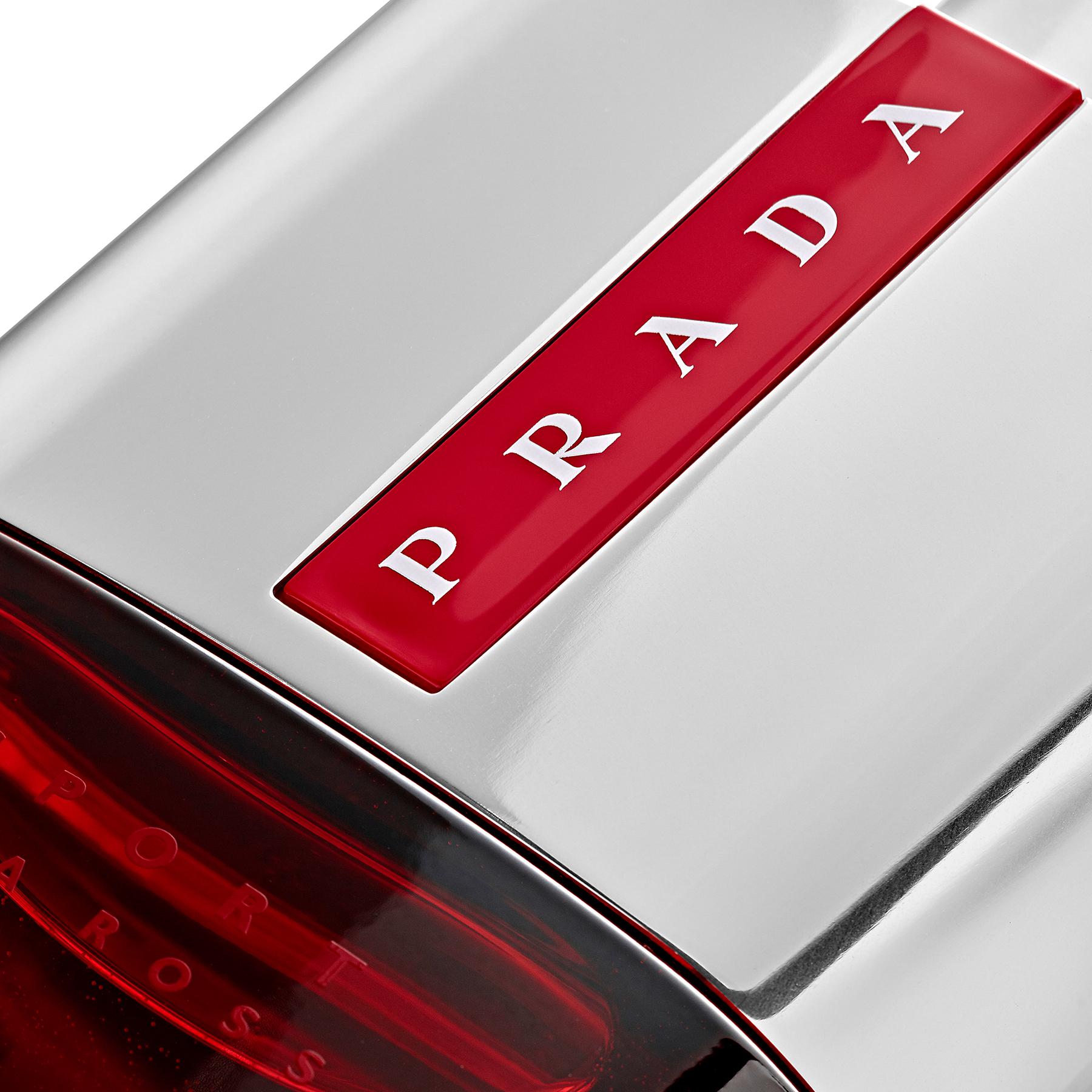 Packshot parfum : Eau De Toilette Luna Rossa Sport Prada - Vue de détail