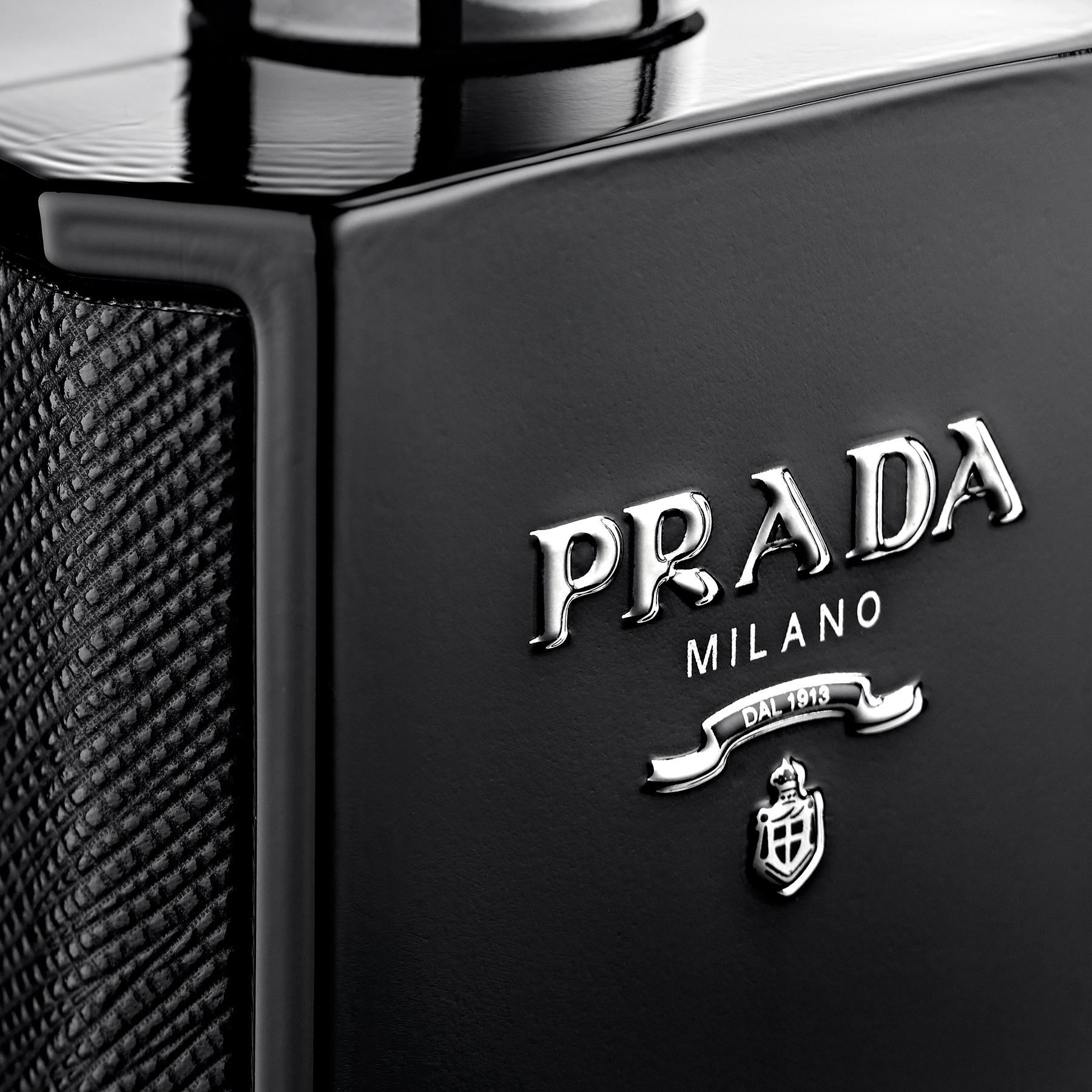 Packshot parfum Prada homme - Vue de détail